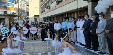 """محافظ الغربية يعطي إشارة البدء لانطلاق فعاليات """"أولمبياد الطفل المصري ٢٠٢١"""""""