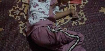 الطفلة وردة محمد