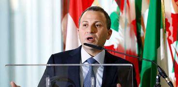 وزير الخارجية اللبناني-جبران باسيل-صورة أرشيفية