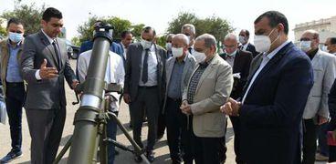 وزير الإنتاج الحربي يتفقد منتجات الوزارة بـ«EDEX 2021» قبل عرضها: فخر لكل مصري