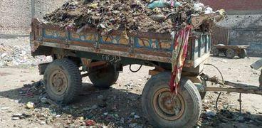 التعامل مع شكاوى القمامة