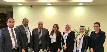 متطوعون بلا حدود تلتقي رئيس الهيئة الوطنية للانتخابات