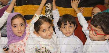 أطفال مكتبة دمنهور يحتفلون بعيد الأضحى المبارك