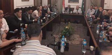 اجتماع الهيئة العليا لحزب الوفد