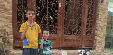 الطفلان أحمد وهشام