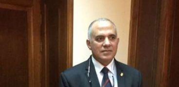 د محمد عبد العاطى وزير الموارد المائية والري