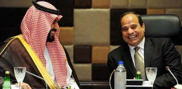 الرئيس السيسي والأمير محمد بن سلمان