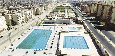 حمامات السباحة بالأسمرات