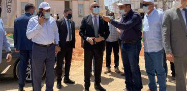 وزير الإسكان يتابع تنفيذ «جاردن سيتي الجديدة» بالعاصمة الإدارية