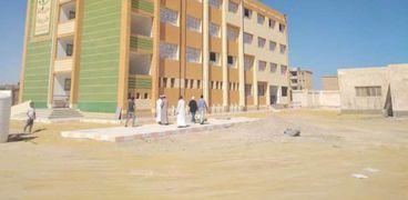 أحدى المدارس التى تم إنشاؤها فى سيوة