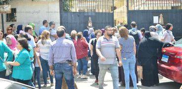 خروج طالبات الثانوية العامة فى الإسكندرية