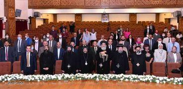 البابا تواضروس خلال زيارته إلى الإسكندرية
