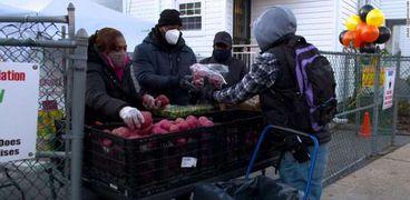 أزمة الطعام في الولايات المتحدة الأمريكية