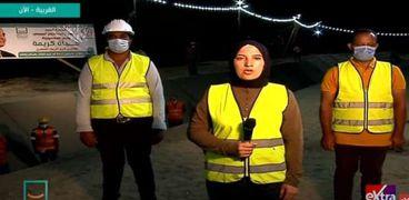 زينب سامي منسق عام مؤسسة حياة كريمة في محافظة الغربية