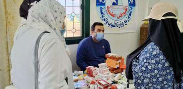 جامعة كفرالشيخ تطلق قافلة طبية متكاملة لقرية السيد البدوي