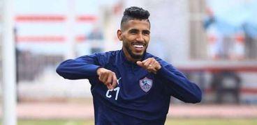 محمد أوناجم، لاعب فريق الزمالك