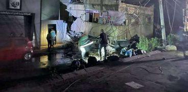 استهداف غزة