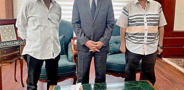 ضمن مبادرة حزب الشعب الجمهوري ..محافظة سوهاج تتسلم 5 الاف كمامة قماشية
