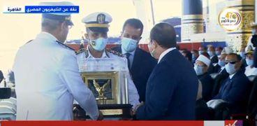 الرئيس السيسي بحفل تخرج كلية الشرطة