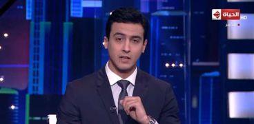 الإعلامي حسام حداد