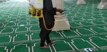 تعقيم مساجد كفر الشيخ