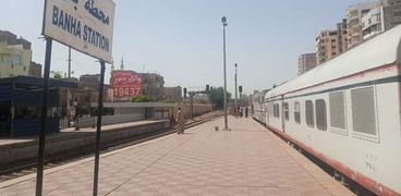 محطة قطارات بنها