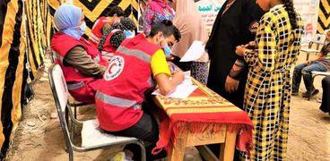 """قافلة طبية مجانية بكفر أبو إسماعيل مركز زفتى ضمن فعاليات """"حياة كريمة"""""""
