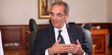 د.عمرو طلعت وزير الاتصالات