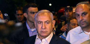 رئيس وزراء الاحتلال الإسرائيلى بينيامين نتنياهو
