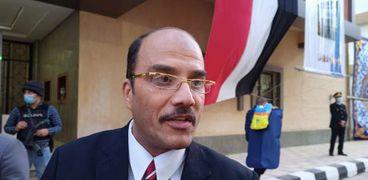 الدكتور حسن الدمرداش رئيس جامعة العريش بشمال سيناء