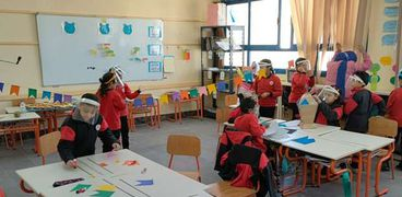 جانب من الأنشطة في المدارس- صورة أرشيفية