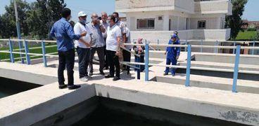 متابعة انتظام الخدمات في كفر الشيخ