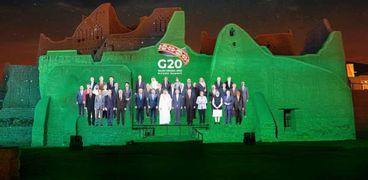 قادة مجموعة العشرين