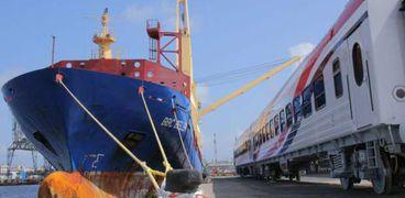 وصول عربات جديدة لميناء الإسكندرية