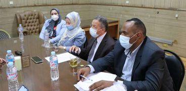 جانب من أعضاء مجلس نقابة الأطباء