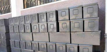 مياه سوهاج توفر 100 صندوق متعدد الاغراض لمكافحة تسرب غاز الكلور