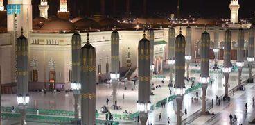المسجد النبوي بالمدينة المنورة