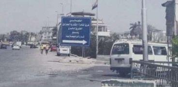 غلق كلي لطريق القاهرة الإسكندرية الصحراوي بالاتجاه القادم