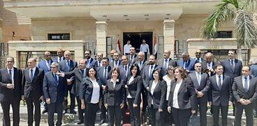 مرشحو القائمة الوطنية من أجل مصر بعد اللقاء التعارفي