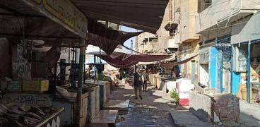 سوق السمك في الإسماعيلية