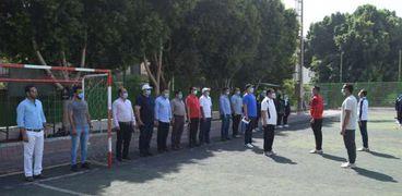 ٧٥٠ طالبا يشاركون بالمعسكر التدريبي بكلية التربية الرياضية بسوهاج