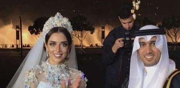 حفل زفاف بلقيس