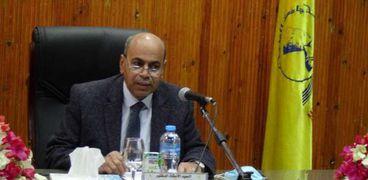 الدكتور مصطفى عبدالنبي .. رئيس جامعة المنيا