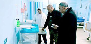 وكيل وزارة الصحة بالغربية يتفقد المستشفيات لمتابعة سير الأعمال في ظل كورونا