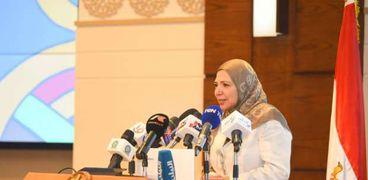 داليا إبراهيم رئيس مجلس إدارة نهضة مصر
