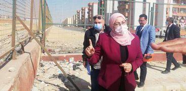 جولة نائب محافظ القاهرة بالمقطم