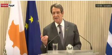الرئيس القبرصي