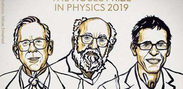3علماء يفوزون بـ نوبل للفيزياء 2019