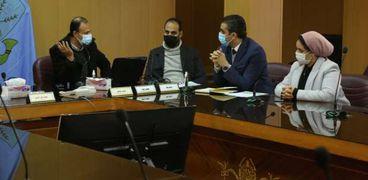 أعضاء  مبادرة حياة كريمة بكفر الشيخ