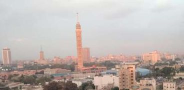 الأمطار في القاهرة
